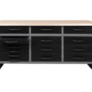 Set datelier 170 cm 3 armoires DarkNight SA176 mecatelier 1 1 - €626,45 -