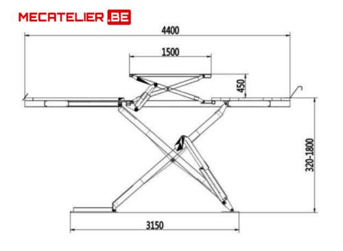 Dimensions PCEA3.5T - €6 600,00 -