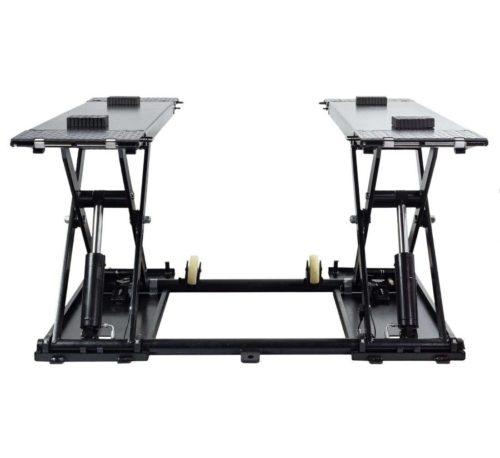 pont elevateur ciseaux mobile 3T profil bas 1m img3 - €1 990,00 -