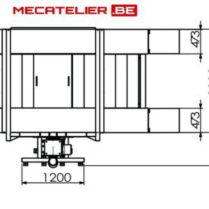 pont elevateur hydraulique mobile 2.7T DIMENSIONS 3 - €2 478,51 -