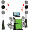 Banc de géométrie mobile autonome 3D