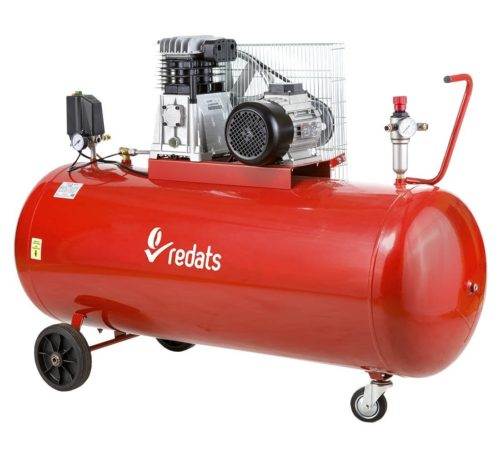 Compresseur a piston 270L 3KW 4cv acheter sur mecatelier be rouge2 - €890,00 -