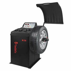 Equilibreuse de pneu semi-automatique