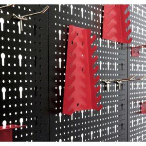 Plaque perforee Mur datelier Accroche murale Rangement 52 elements i - €123,14 -