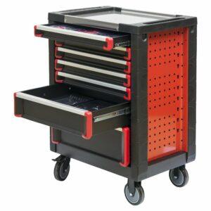 Servante d'atelier complète rouge 420 éléments