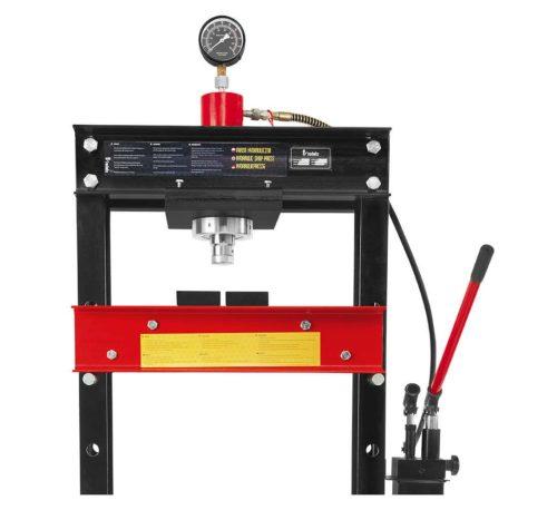 presse hydraulique 30T H-380 travail et manomètre