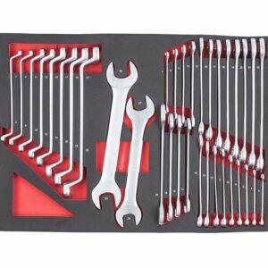 servante d'atelier complète 217 éléments clés plates