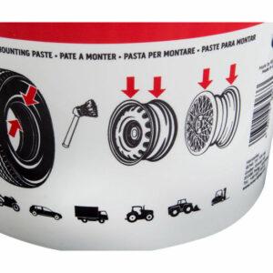 Pâte de montage de pneu détails