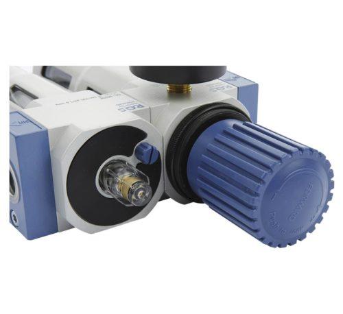 filtre régulateur avec séparateur bouchon Mecatelier
