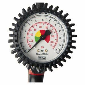 gonfleur de pneus manomètre détail