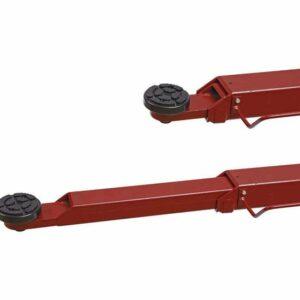 pont 2 colonnes 4t automatique 400v bras extensibles
