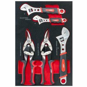 servante à outils complète 447pc pinces et clefs