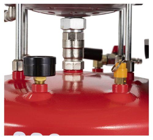 vidangeur d'huile avec réservoir de contrôle D-220 détails