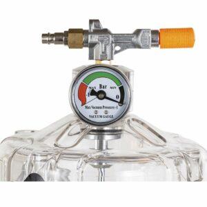 vidangeur d'huile avec réservoir de contrôle D-220 manomètre