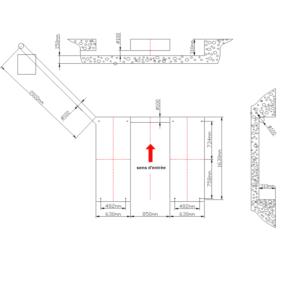 pont ciseaux encastrable plan encastration genie civil 3t voiture garage normet 1 - €2 900,00 -