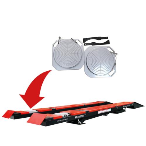 pont ciseaux geometrie 5T rouge plaque geo - €7 500,00 -