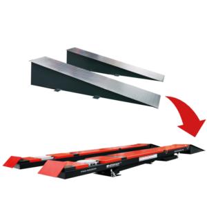 pont ciseaux geometrie 5T rouge rampes - €7 500,00 -
